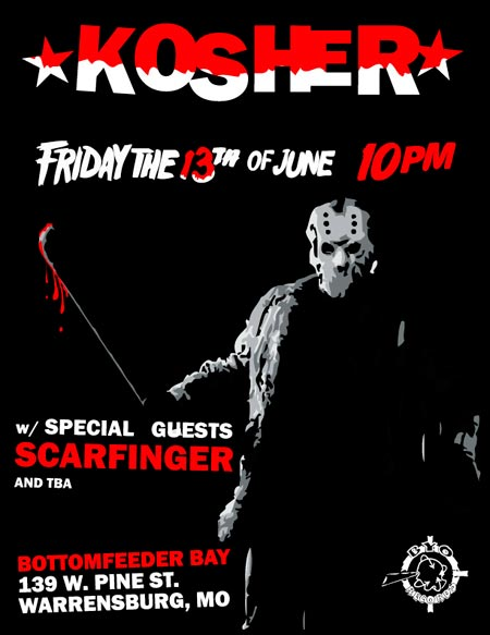 Friday the 13th of June 10pm